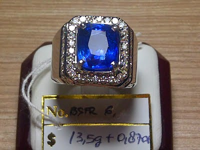 6,16ct ROYAL BLUE SAPPHIRE GD stock lama
