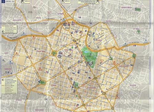 Mapa de Belo Horizonte