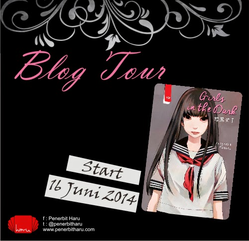 [Pengumuman] Pemenang Giveaway Blog Tour Girls in The Dark