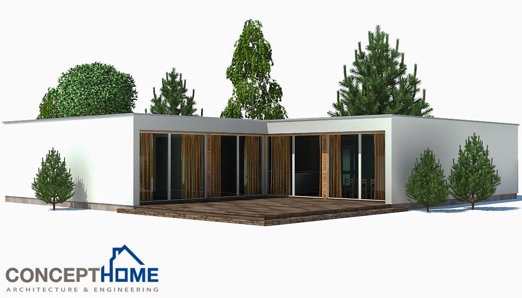 Proyectos de casas modernas proyecto de casa moderna ch167 - Proyectos de casas ...