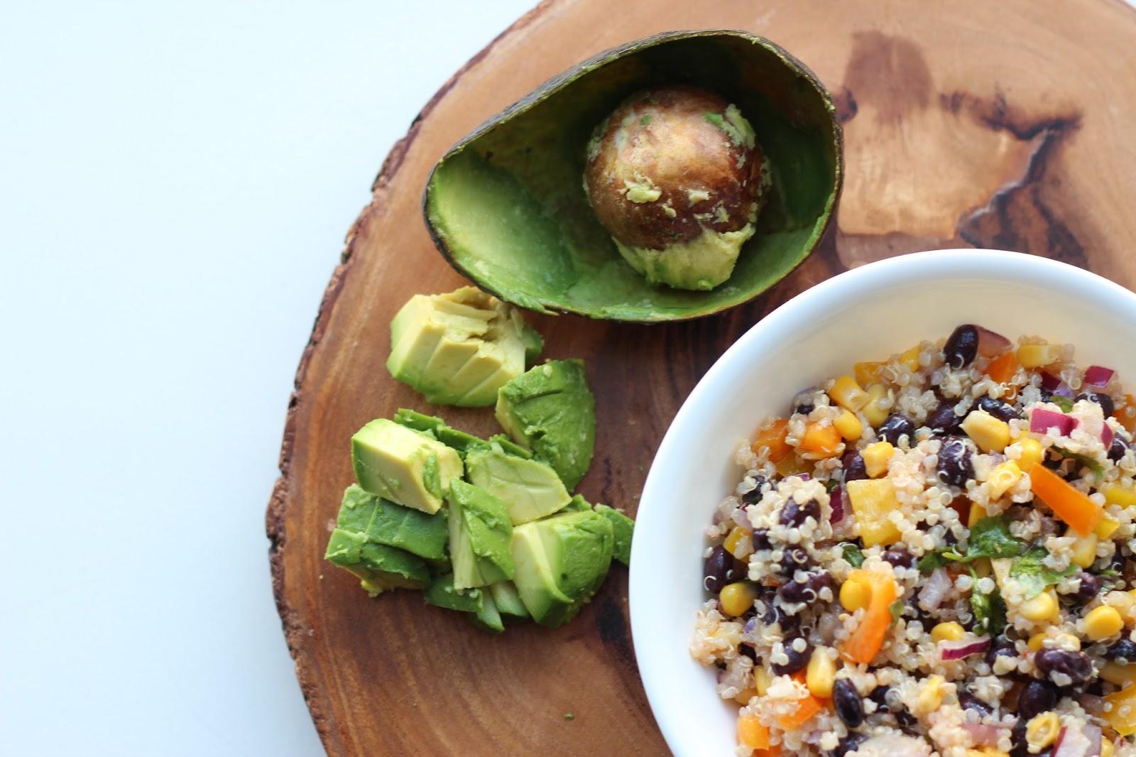 southwest quinoa salad www.footnotesandfinds.com