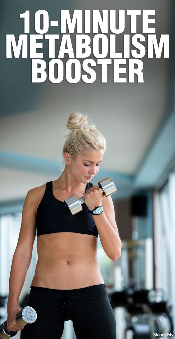 10-Minute Metabolism Booster