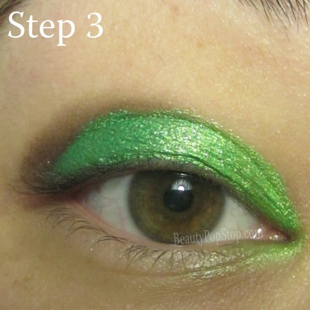 st patrick's day makeup tutorial using sugarpill tipsy