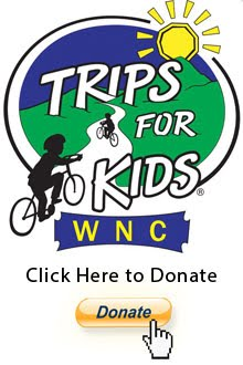 100% of Donations go to Trips for Kids WNC!