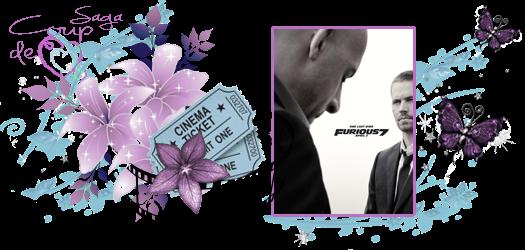 Fast and furious 7 - Paul Walker et Vin Diesel