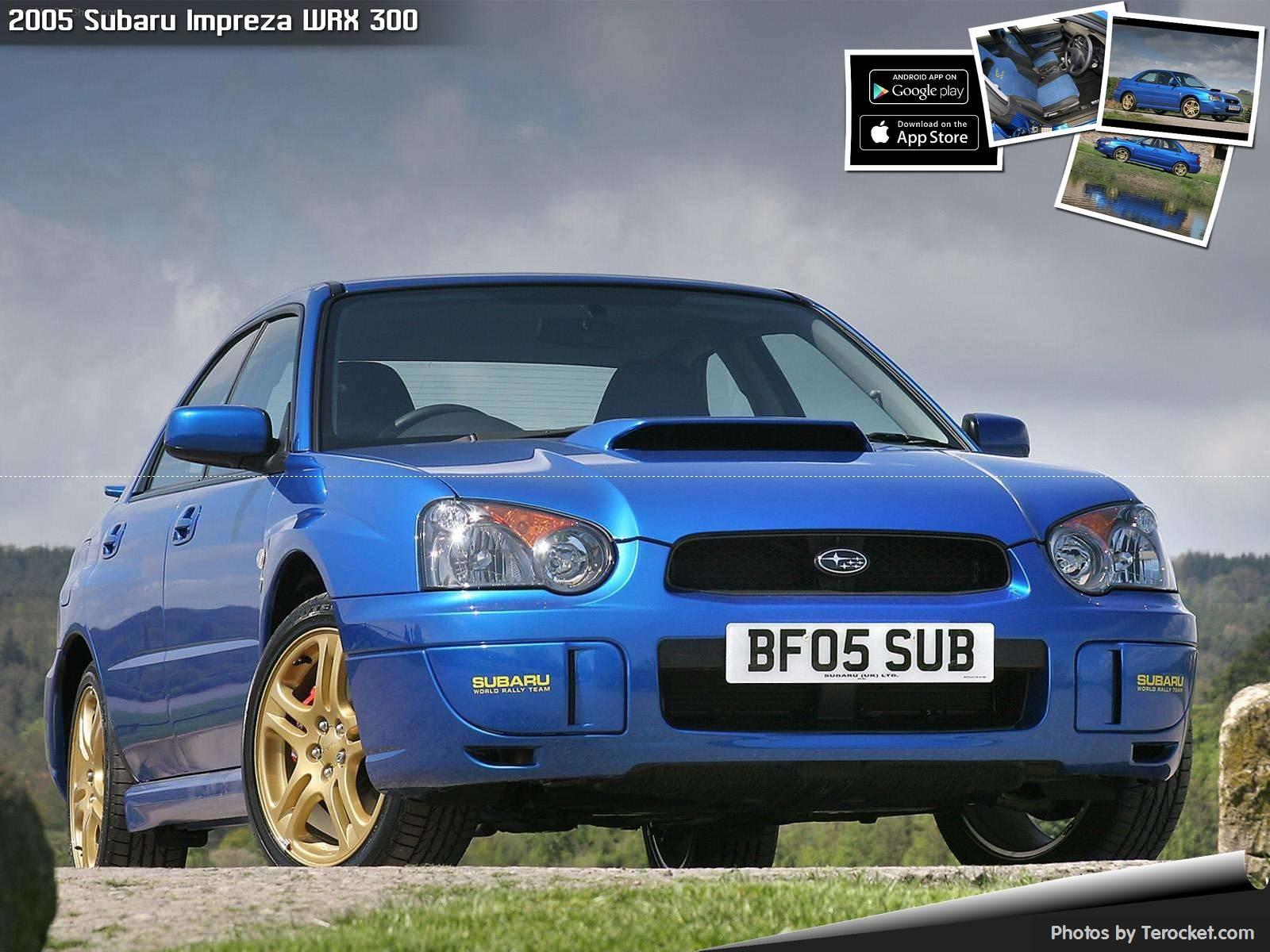 Hình ảnh xe ô tô Subaru Impreza WRX 300 2005 & nội ngoại thất