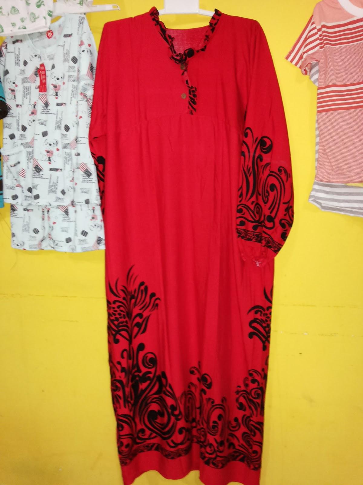Motif Gamis Bali