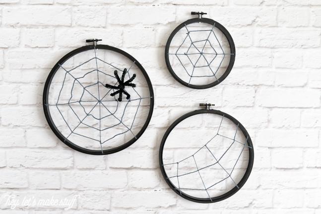 3 ideas para halloween con bastidores de bordar - Bastidores para bordar ...