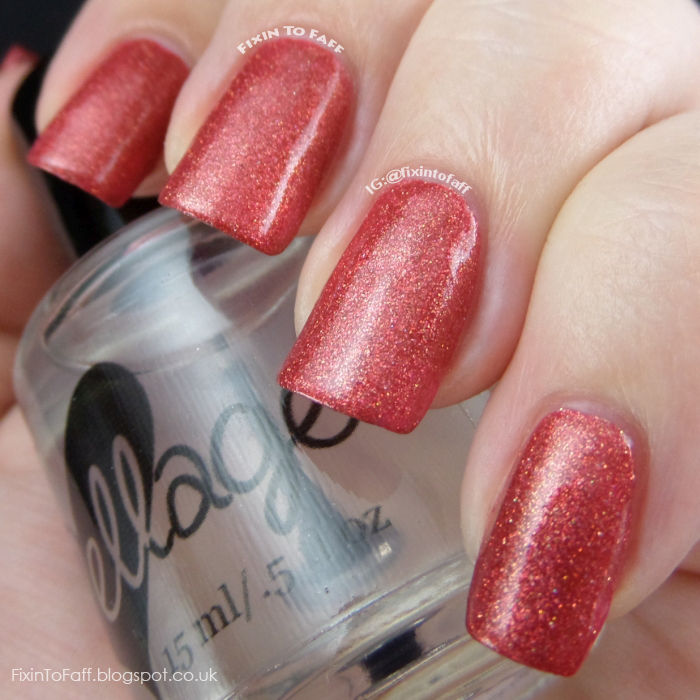 ellagee a kiss at midnight swatch