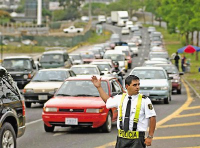 Multas de la ley de Tránsito en Costa Rica