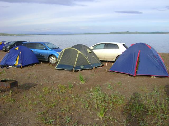 Хакасия, озеро Белё. Отдых дикарями