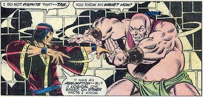 Shang-Chi, Master of Kung Fu, Jim Starlin, Tak