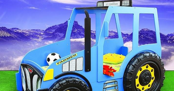 Camere per bambini letto trattore auto letto macchina letto - Letto macchina per bambini ...