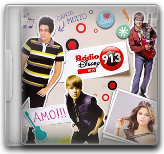 Capa CD Rádio Disney Hits (2011)
