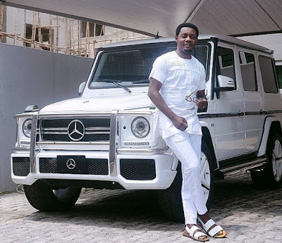 Comedian, AY Turns  a Year Older with Brand New G-Wagon Self Gift