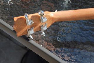 Moselele Bambookulele concert ukulele tuners