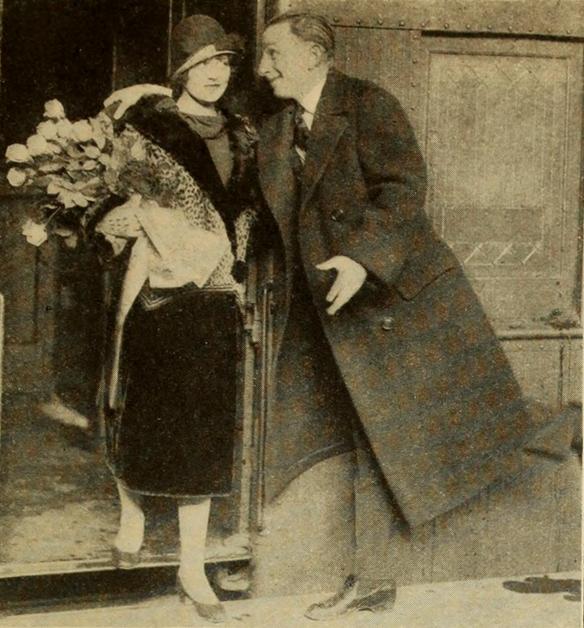 Dorothy Dwan and Larry Semon