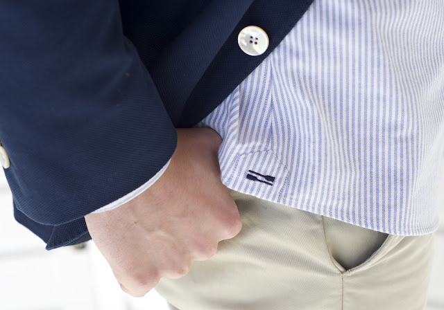 Wey Hill and Wharf: The Preparatory Oxford Shirt Made in U.S.A
