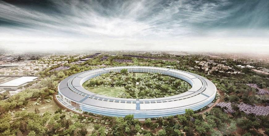 Apple-ს სათაო ოფისი. სტივის კოსმოსური ხომალდი