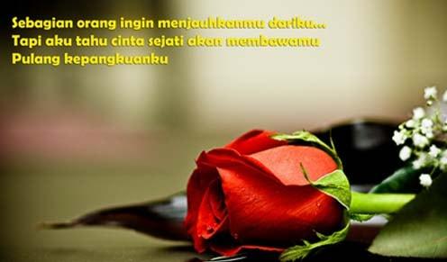 status cinta romantis