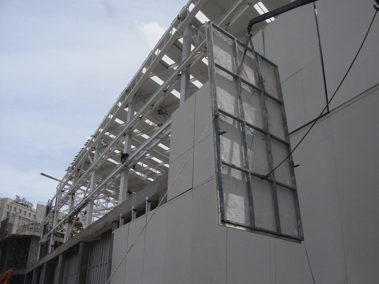 Grc Cladding For Steel Shades : Architectonic concrete s l light gfrc faÇades cladding