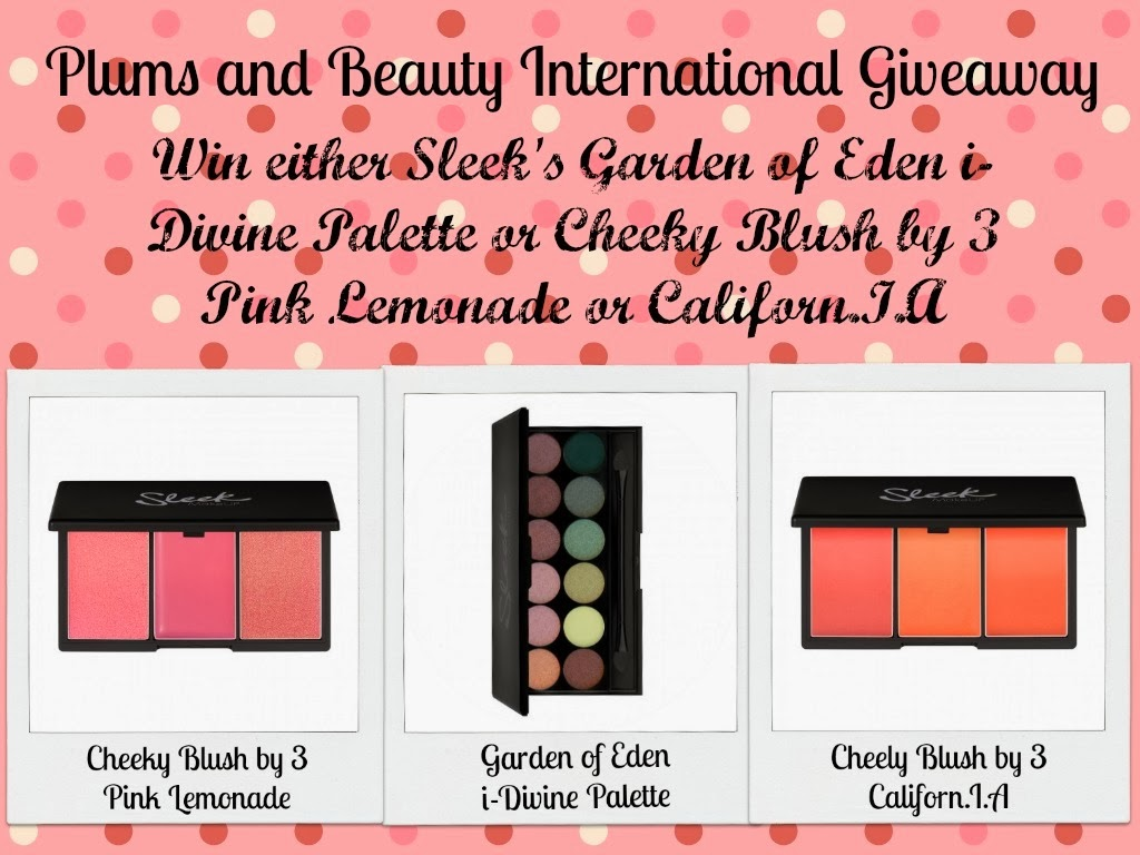 Plums & Beauty International Giveaway