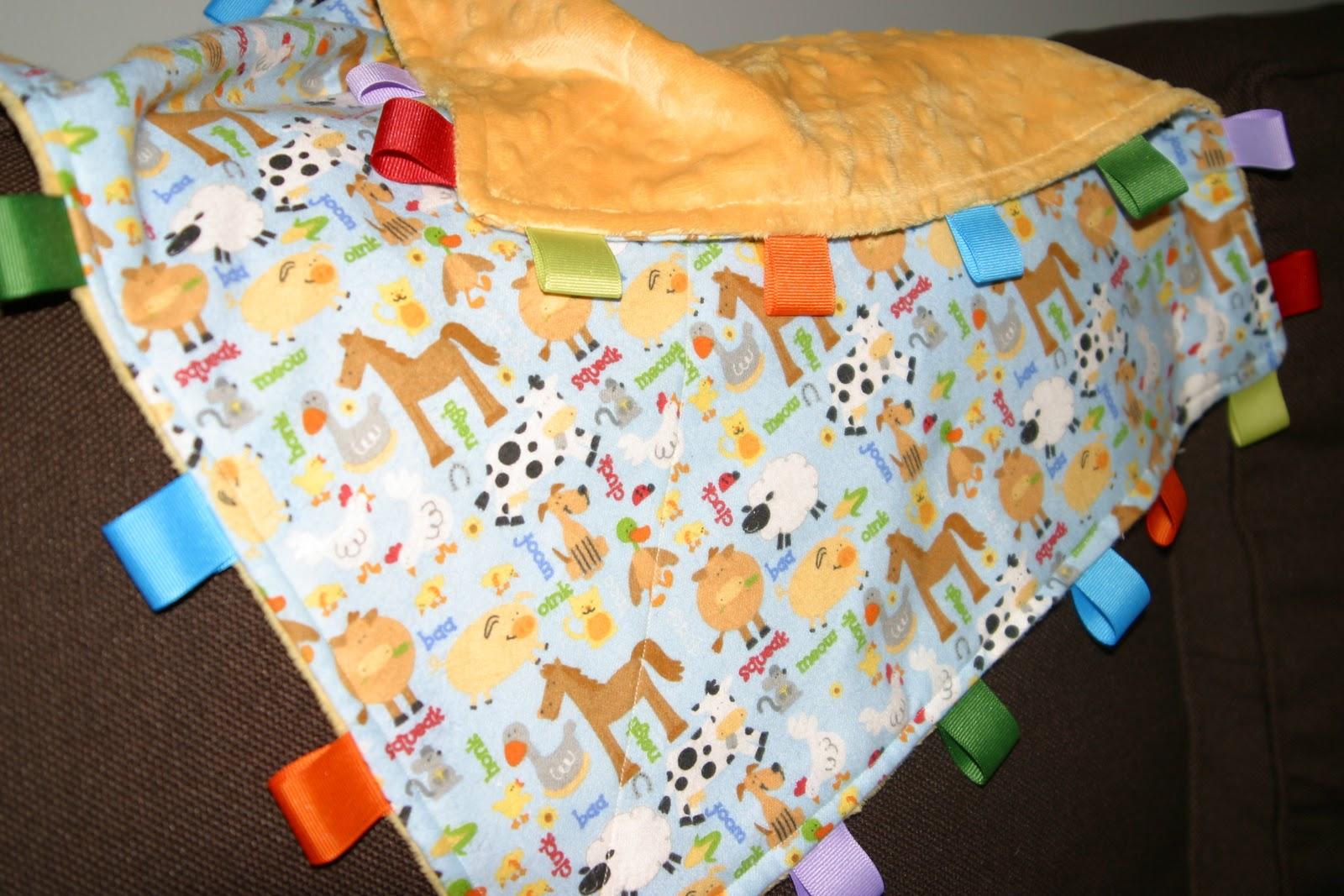 Dwell Ing Noun Taggie Blanket