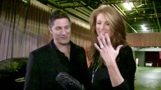 The look of love is definitely in their eyes!  After having an elaborate wedding on last month, Angie Everhart and her new husband, Carl Ferro have been enjoying their honeymoon at Mexico on Monday, December 22, 2014.