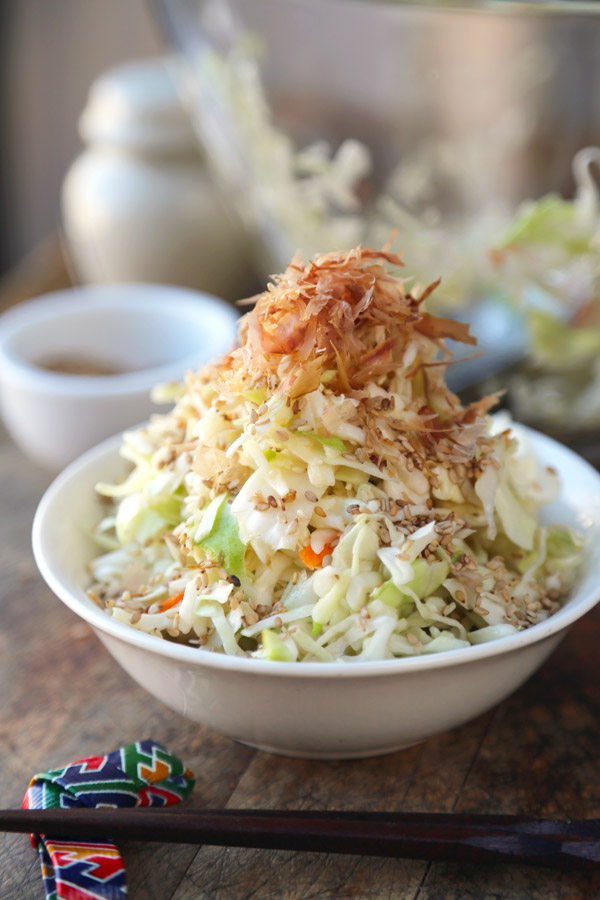 Japanese Recipes] Cabbage Salad - All Asian Recipes For You