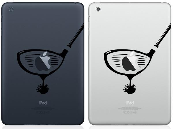 Golf Club iPad Mini Decals