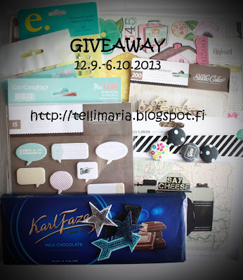 Tellimaria:Giveaway!
