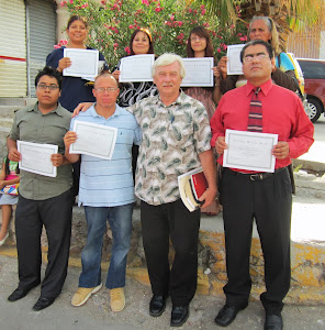 Our Previous Book of Romans Class in Juarez, Mx.