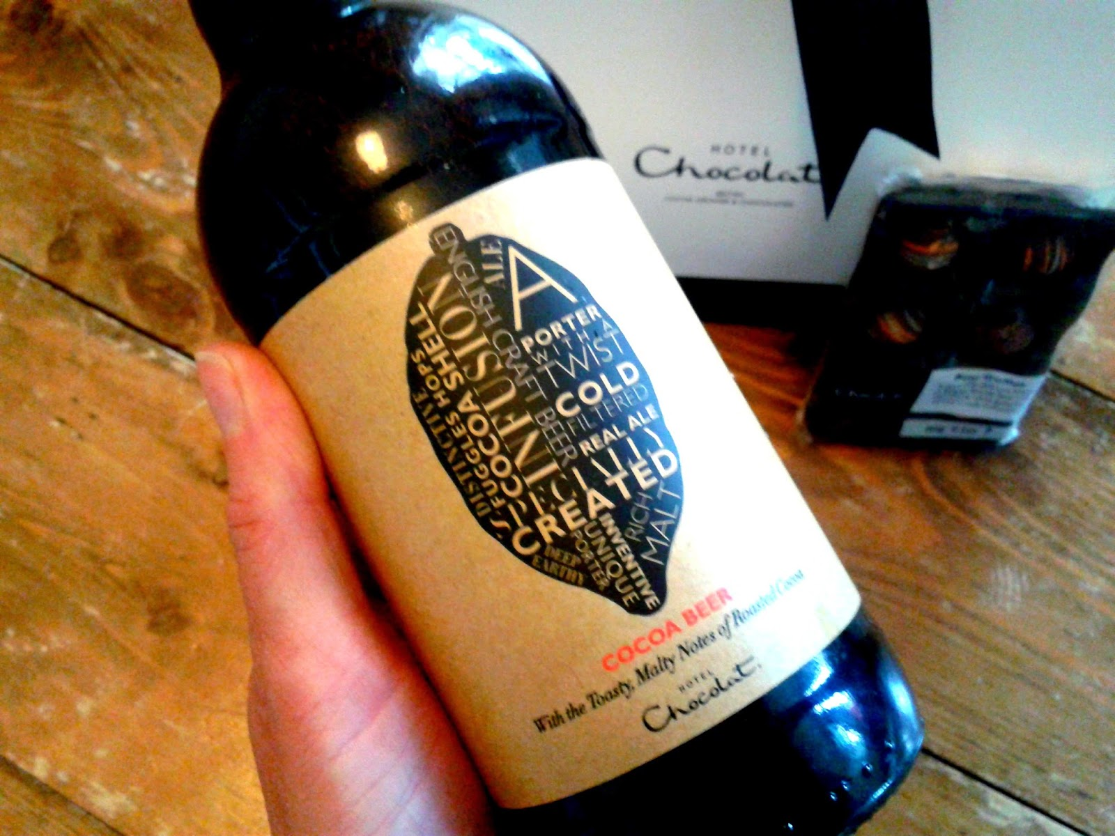 Cocoa Beer from Hotel Chocolat // 76sunflowers