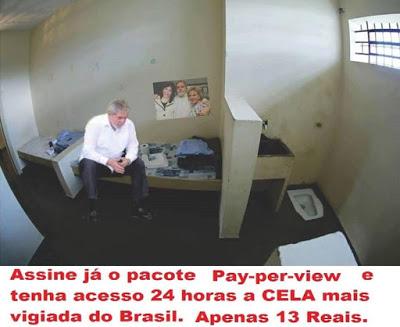 TENHA ACESSO A CELA MAIS VIGIADA DO BRASIL