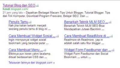 sitelink+google
