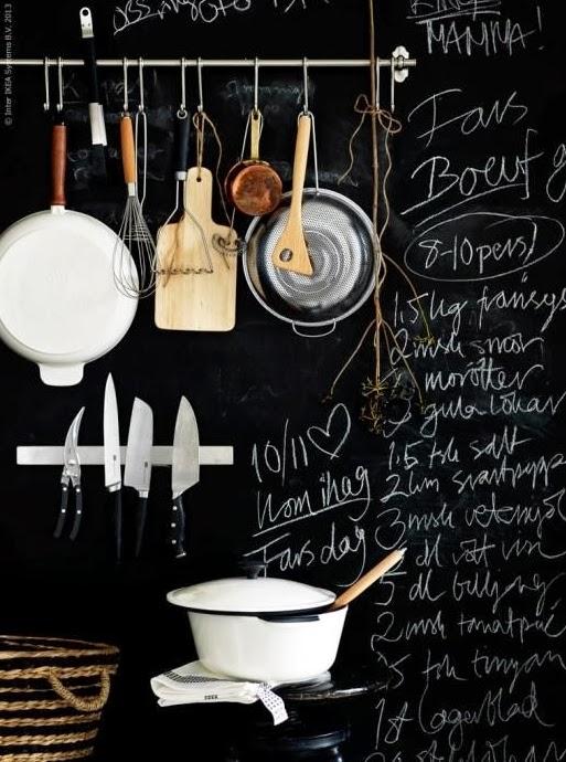 Keuken Verf Ideeën : Interieur keuken verf muur in de blijft boven ...