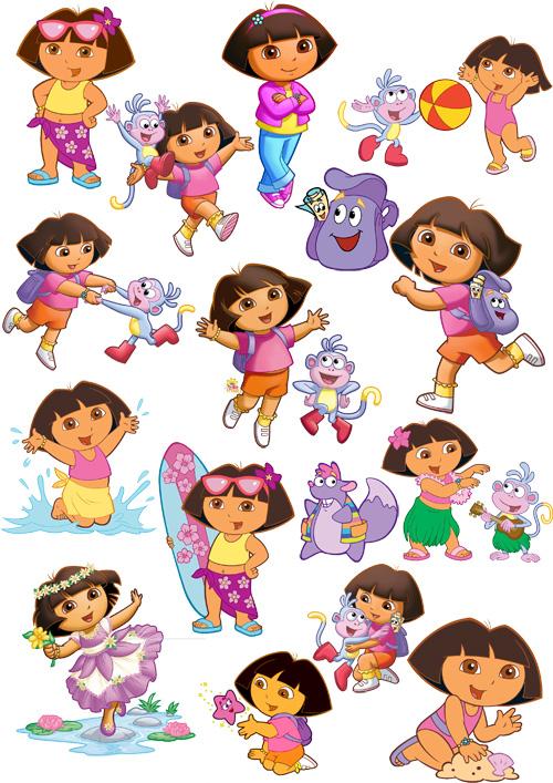 Dora Happy Birthday Clip Art