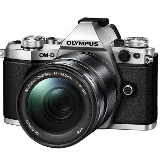 The future is here, The Olympus OM-D E-M5 Mark II!
