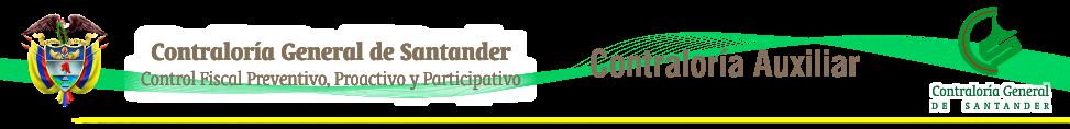 Contraloría Auxiliar - Contraloría General de Santander
