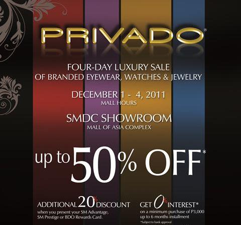 SM Accessories presents PRIVADO