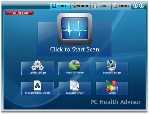 Free PC Health Advisor