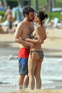 Julia Jones, her boyfriend, Hawaii, Hawaii Hotels, Hawaii Beach, Hawaiian vacation, Travel to Hawaii, Hawaii luxury hotels