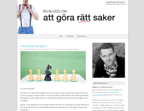 Min käre makes blogg