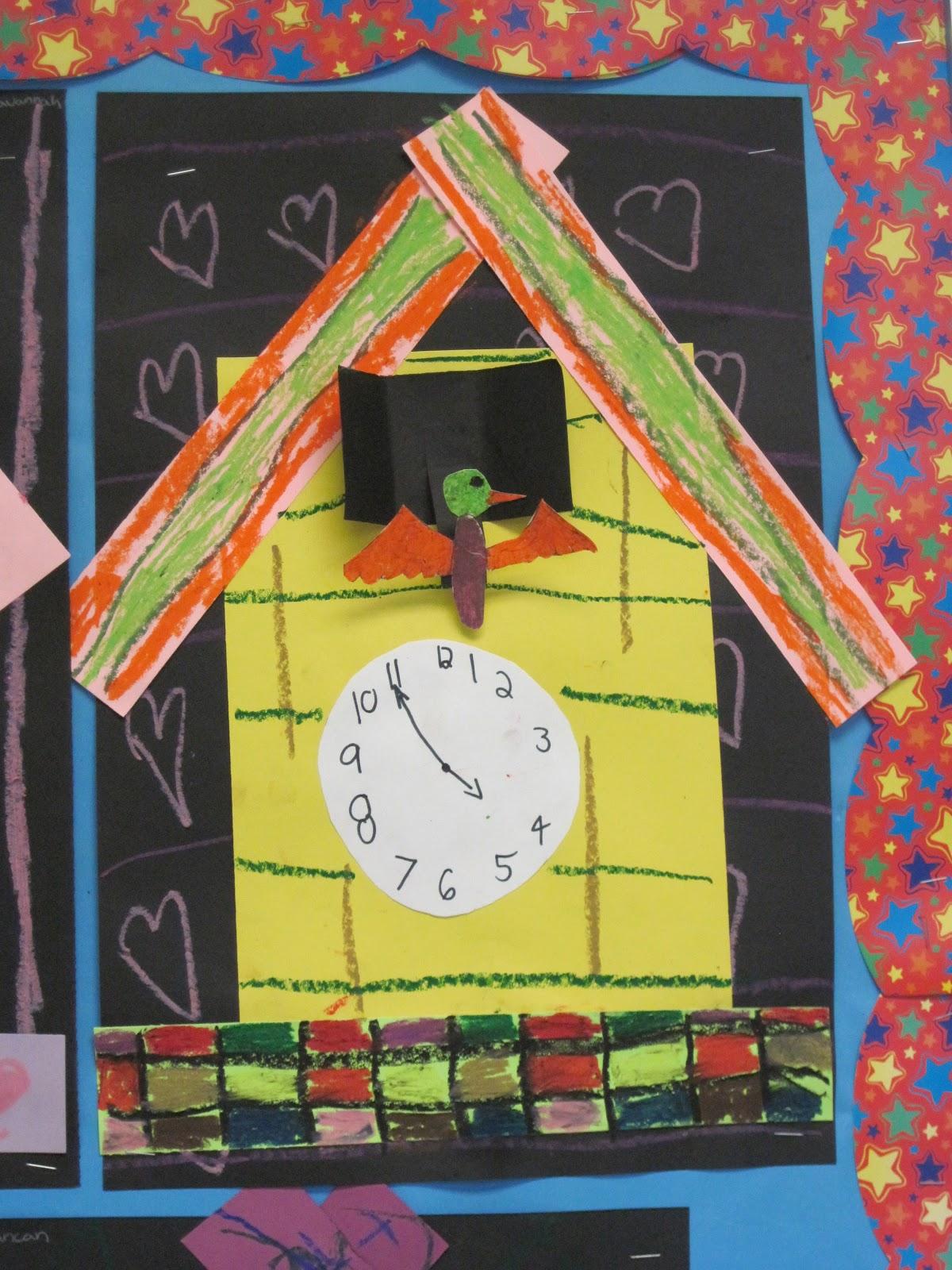 Lines dots and doodles cuckoo clocks 2nd grade - Cuckoo clock plans ...