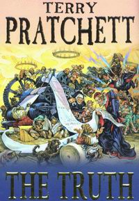 "Cover of ""The Truth"", a novel by Terry Pratchett"
