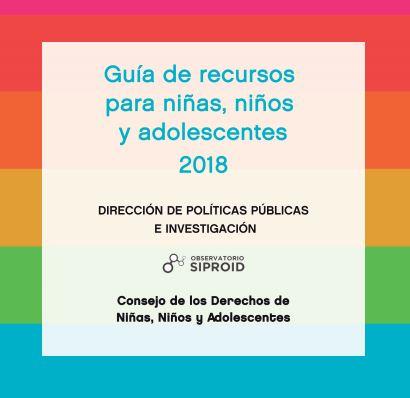 CDNNyA - GUÍA DE RECURSOS PARA NIÑAS, NIÑOS Y ADOLESCENTES