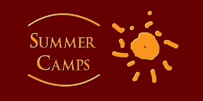 ver logotipo de Summer Camps de Lagier Events: Campamentos de verano y anuales para aprender inglés en Madrid, Sevilla, Coto de Doñana...