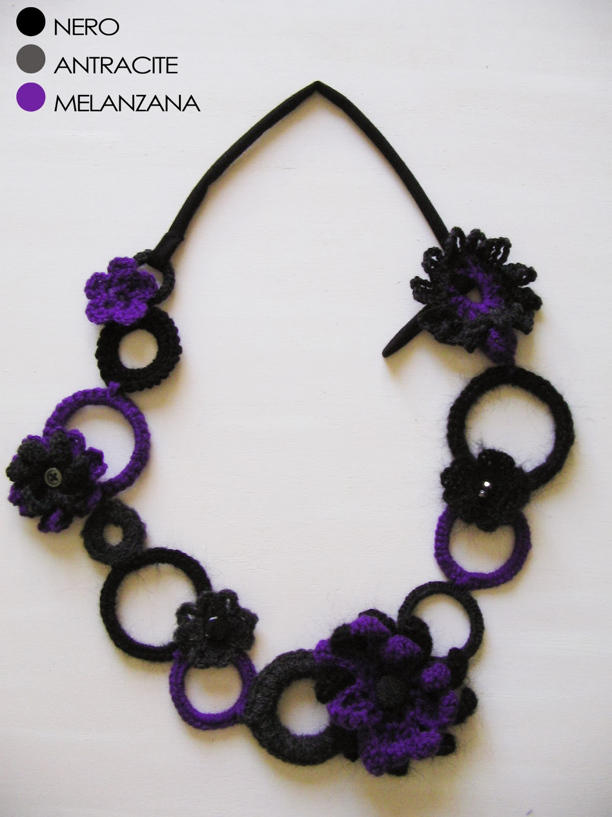 Chiaramwearing Crochet Necklace