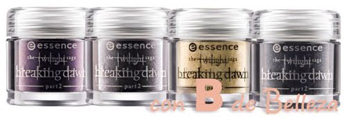 Essence pigmentos Breaking dawn