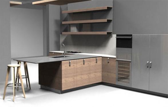 The cocina y muebles c mo dise ar una cocina minimalista - Como disenar una cocina rustica ...